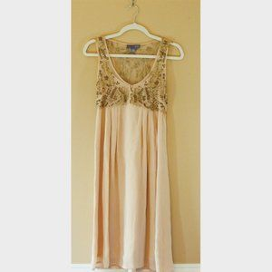 Sundance Beaded Silk Dress